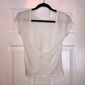 Low Back Bralette T-Shirt XS/S